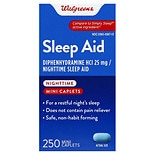 Walgreens Nighttime Sleep Aid Mini-Caplets
