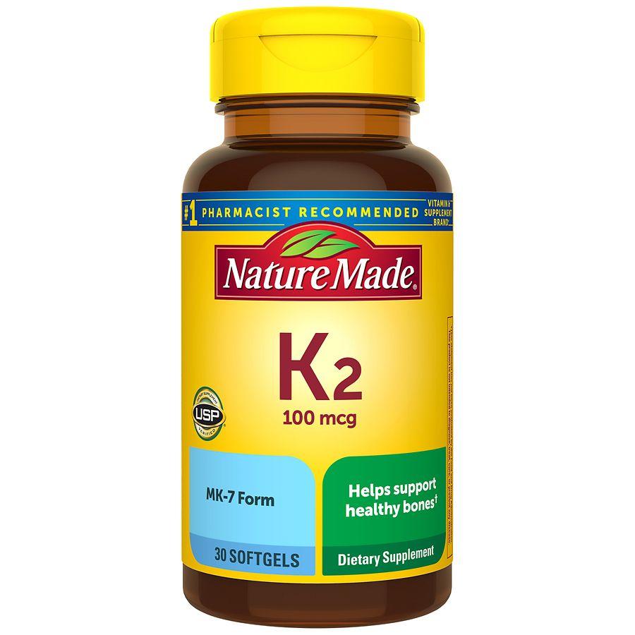 Vitamin d k2 supplement