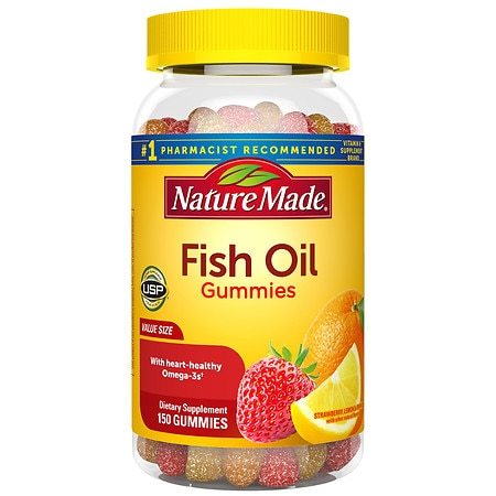 Nature made fish oil gummies review