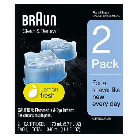 Braun Clean & Renew Cartridge Refills