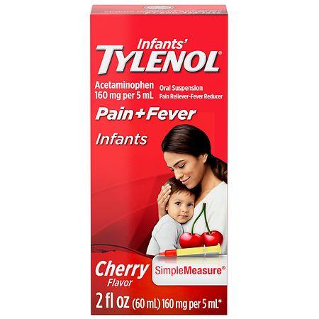 Infants' TYLENOL Acetaminophen Oral Suspension Cherry - 2 fl oz