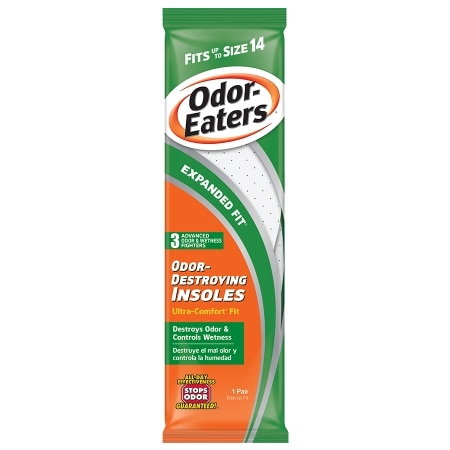 Image of Odor-Eaters Ultra-Comfort Odor-Destroying Insoles Expanded Fit - 1 pr