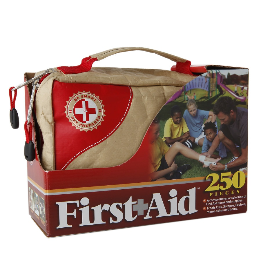 Be Smart Get Prepared First Aid Kit 250 Pieces1.0 kit e1008b5b6623d