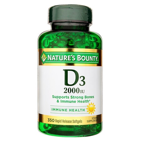 Nature's Bounty Super Strength D3 - 2000iu - 350 ea