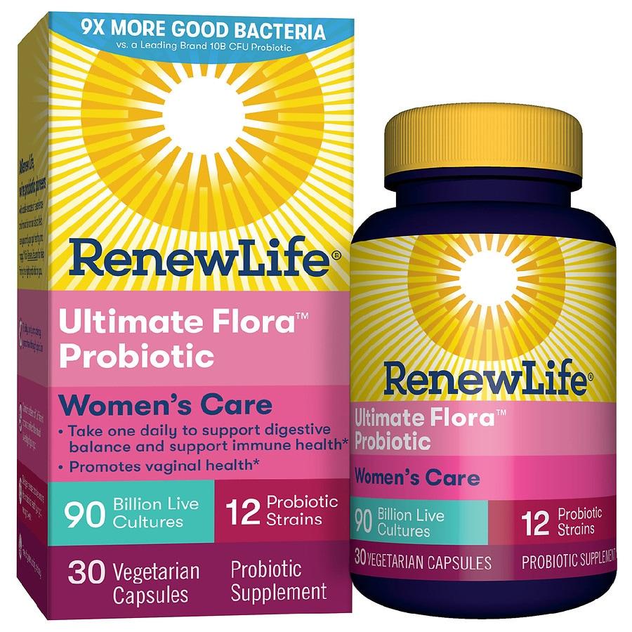 Best Women\'S Razor 2020 ReNew Life Women's Probiotic   Ultimate Flora Probiotic Women's