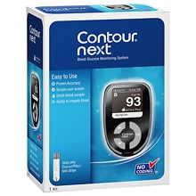 Diabetes Blood Glucose Meters and Test Strips | Contour Next