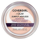 CoverGirl & Olay Simply Ageless Foundation + Titanium Dioxide Broad Spectrum SPF 28 Creamy Natural
