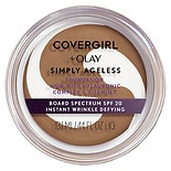 CoverGirl & Olay Simply Ageless Foundation + Titanium Dioxide Broad Spectrum SPF 28 Classic Tan