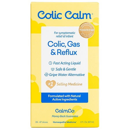 Image of Colic Calm Homeopathic Gripe Water Oral Suspension - 2 oz.