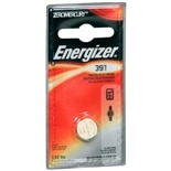 Energizer Watch/ Electronic Silver Oxide Battery 391