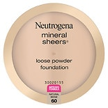 Neutrogena Mineral Sheers Loose Powder Foundation Natural Beige