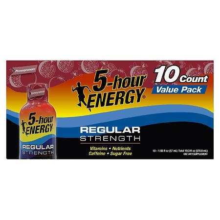 5-Hour Energy Energy Shot Pomegranate - 1.93 oz. x 10 pack