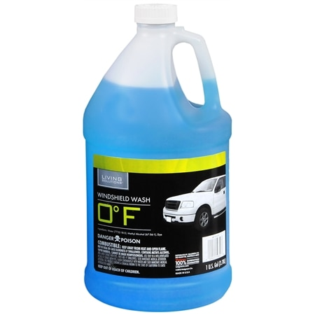 Living Solutions Windshield Wash 0 Degrees - 128 fl oz