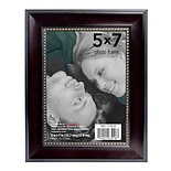 Home Elements Picture Frame 5 inch x 7 inch Brown/ Gold