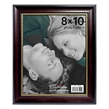 Home Elements Picture Frame 8 inch x 10 inch Black/ Gold