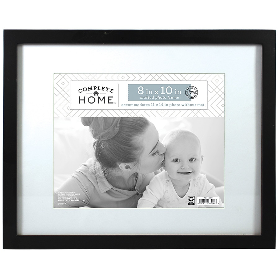 Home Elements Picture Frame 11 Inch X 14 Inch Black Walgreens