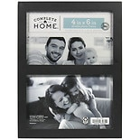 Home Elements Picture Frame 4 inch x 6 inch Black