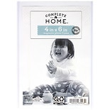 Home Elements Magnetic Picture Sleeve 4 inch x 6 inch Clear