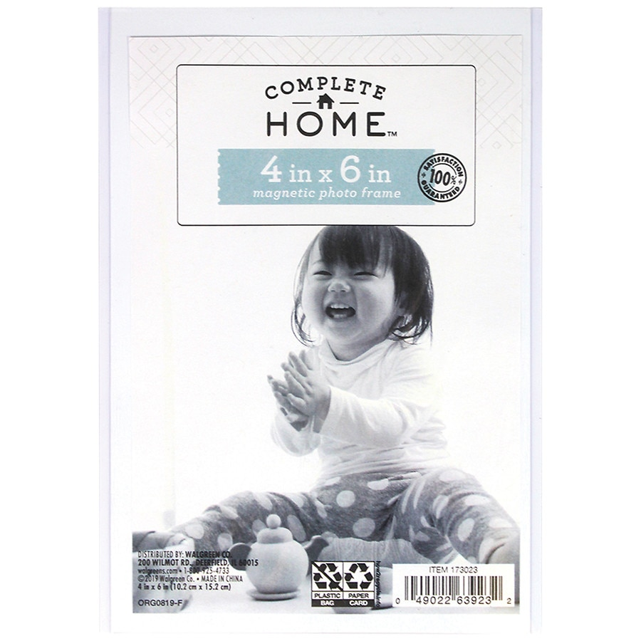 Photo frames walgreens home elements magnetic picture sleeve 4 inch x 6 inch clear jeuxipadfo Choice Image