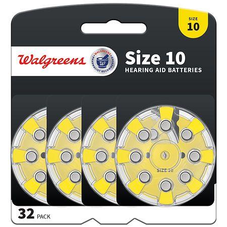 Walgreens Premium Zinc Air Hearing Aid Batteries - 32 ea