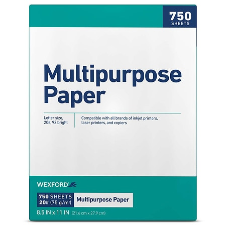 Charming Wexford Multipurpose Paper White