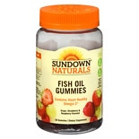 Sundown Naturals Fish Oil Omega-3 Gummies with D3