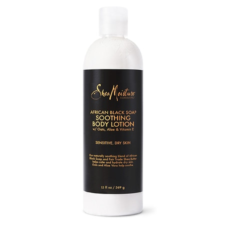 Image result for -Shea Moisture African Black Soap Lotion and Body Soap