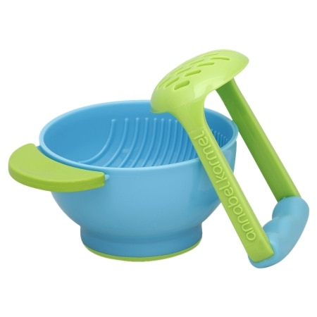 NUK Annabel Karmel Freshfoods Mash & Serve Bowl - 1 ea