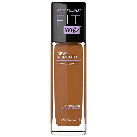 Maybelline Fit Me Dewy + Smooth Foundation Makeup - 1 fl oz