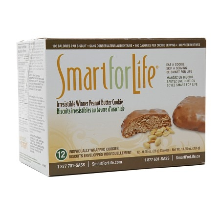 Smart for Life 100 Calorie Cookies Peanut Butter