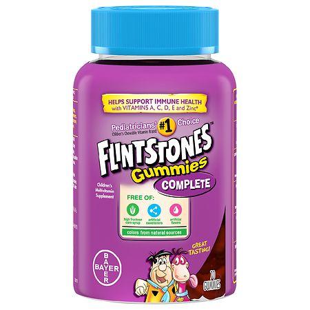Flintstones Gummies Complete - 70 ea