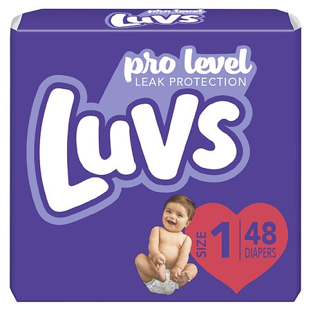 Luvs Ultra Leakguards Diapers Size 1 | Walgreens