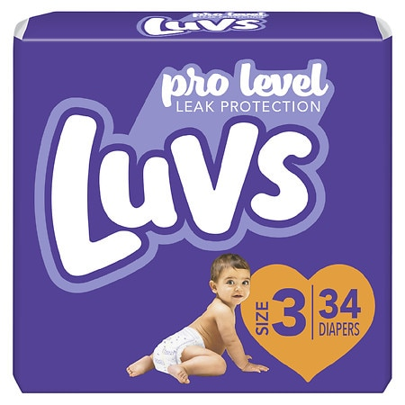 Luvs Ultra Leakguards Diapers Size 3 | Walgreens