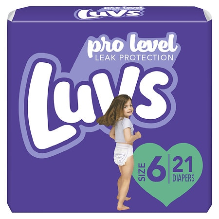 Luvs Ultra Leakguards Diapers Size 6 | Walgreens