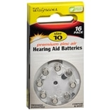 Walgreens Hearing Aid Batteries 10