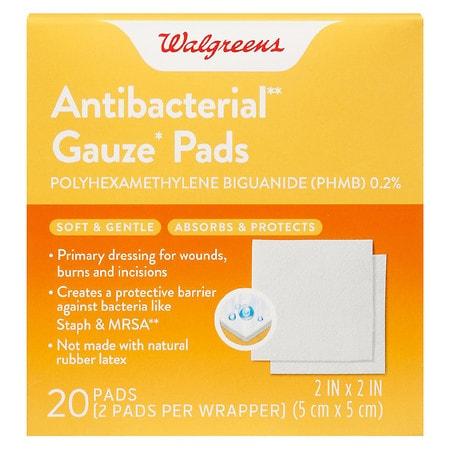 walgreens antimicrobial gauze pads walgreens