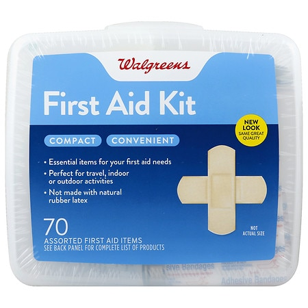 Walgreens First Aid Kit, Compact - 1 ea