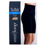 West Loop Luxe No Hose Shaper High Waist to Mid Thigh L Nude