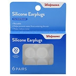 Walgreens Soft Silicone Ear Plugs