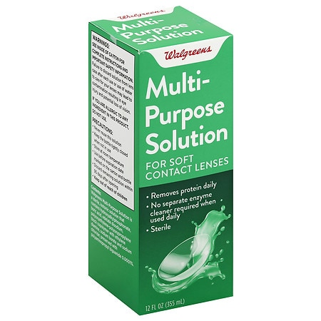 Walgreens Multi-Purpose Solution - 12 oz.