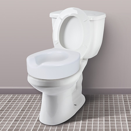 Carex Quick Lock Raised Toilet Seat Riser Walgreens