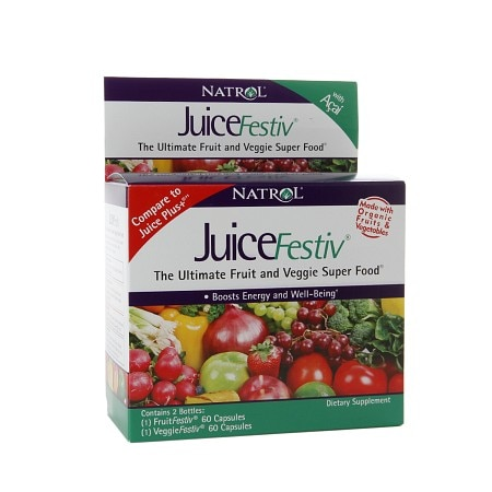 Natrol JuiceFestiv Ultimate Fruit & Veggie Super Food - 1 ea