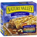 Nature Valley Crunchy Granola Bars Oats 'n Dark Chocolate
