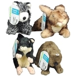Petshoppe Squeaky Critters Dog Toy Assorted