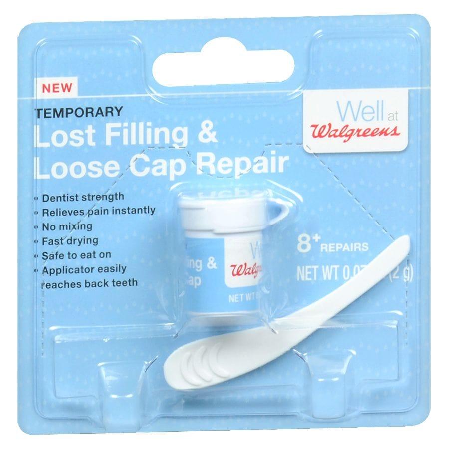 Walgreens Lost Filling & Loose Cap Repair | Walgreens