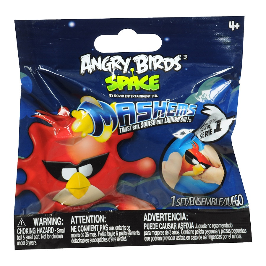 Angry Birds Space Toys : Angry birds space mash ems toy set assorted walgreens