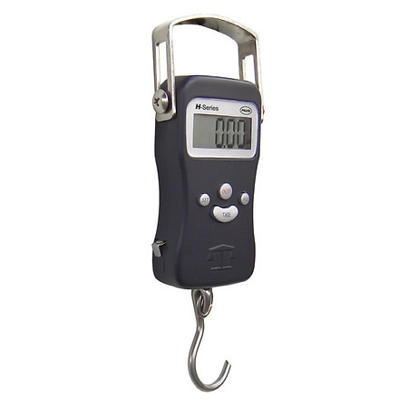 Image of American Weigh Portable Hanging Luggage Scale, Built-In Tape Measure H-110 - 1 ea