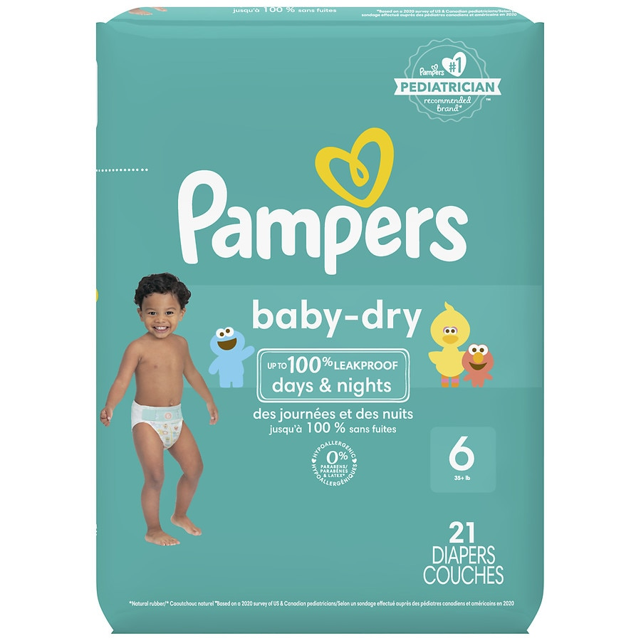 0c8e1220888 Pampers Baby Dry Diapers Size 621ea