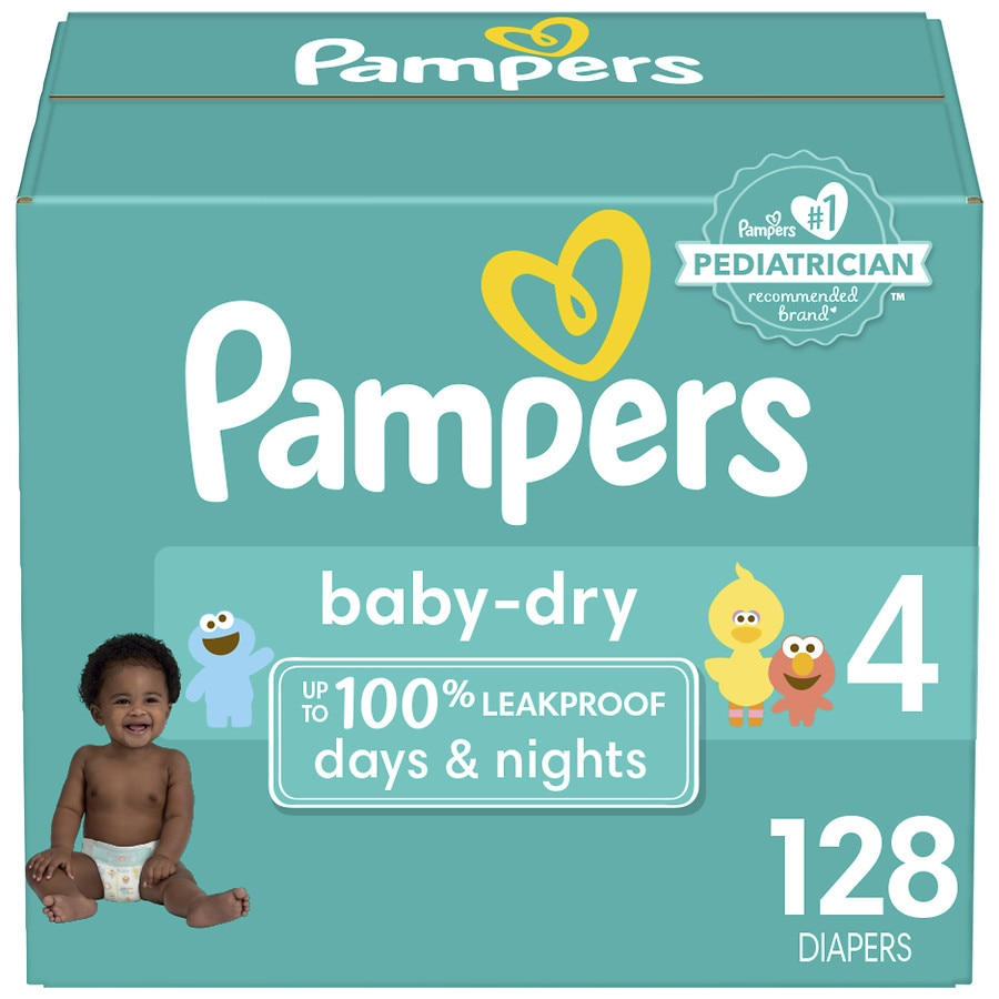 750268e7a03 Pampers Baby Dry Diapers Size 4128ea