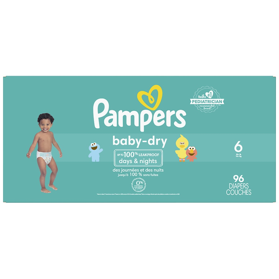 a6553ab971d Pampers Baby Dry Diapers Size 696ea
